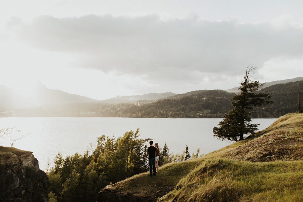 Portland Oregon Engagement Photo Location