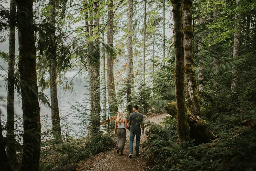 Forest Engagement Photos in Oregon