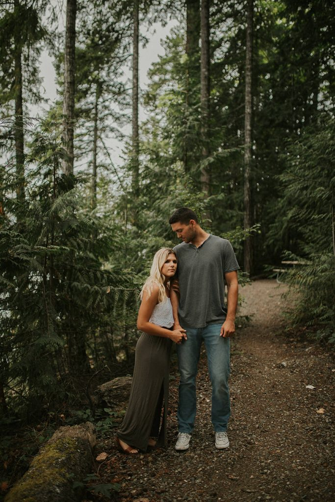 Moody Lake Engagement Session near Seattle