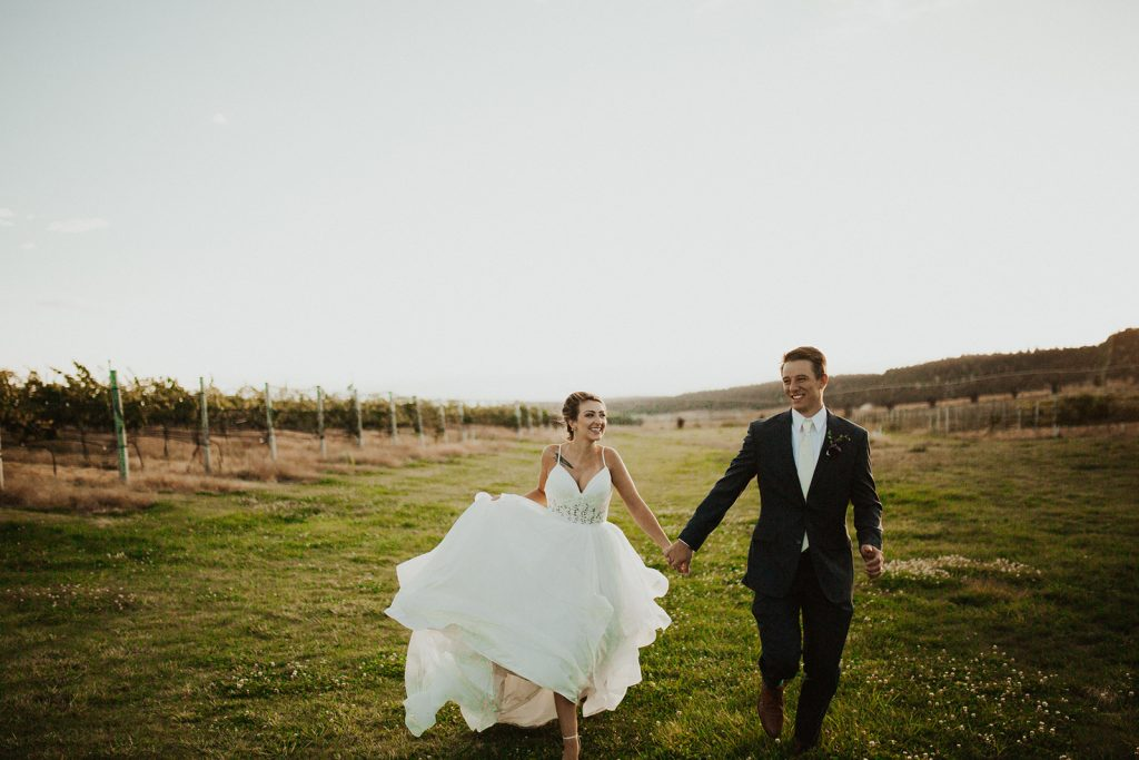 Faith Hope and Charity Vineyards Wedding