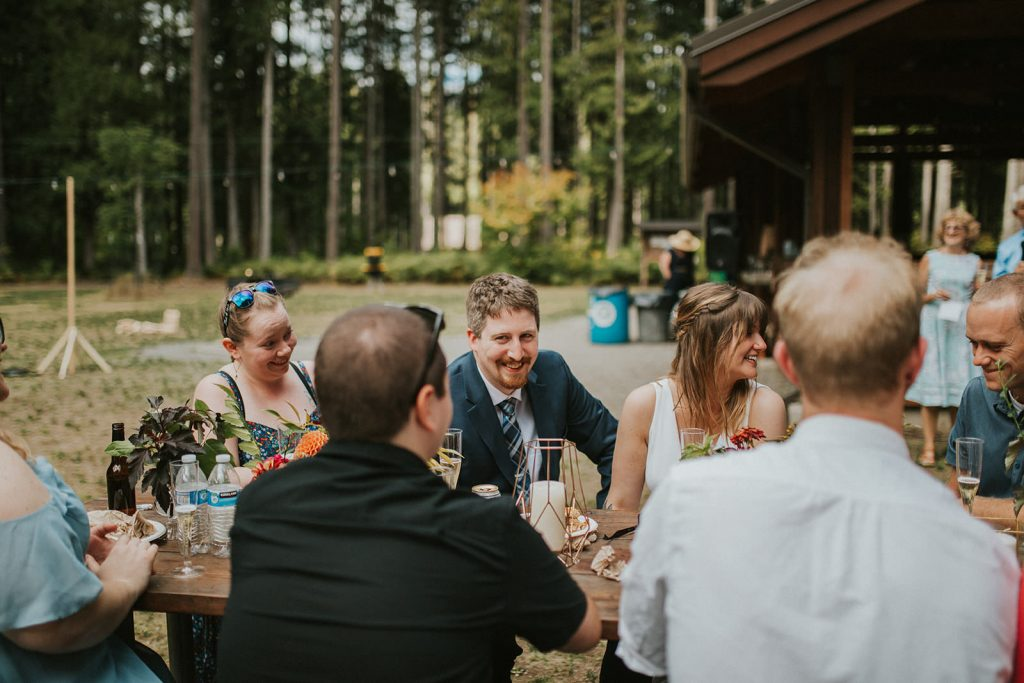 Campout Wedding in the PNW