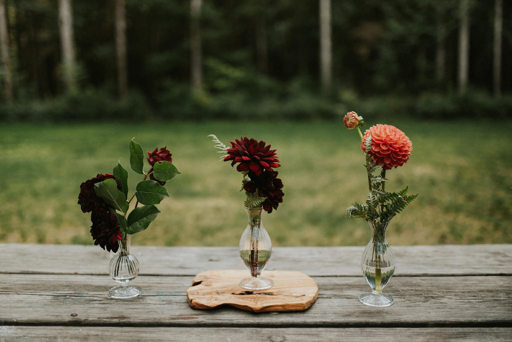 Elopement at Rasar State Park in Washington State