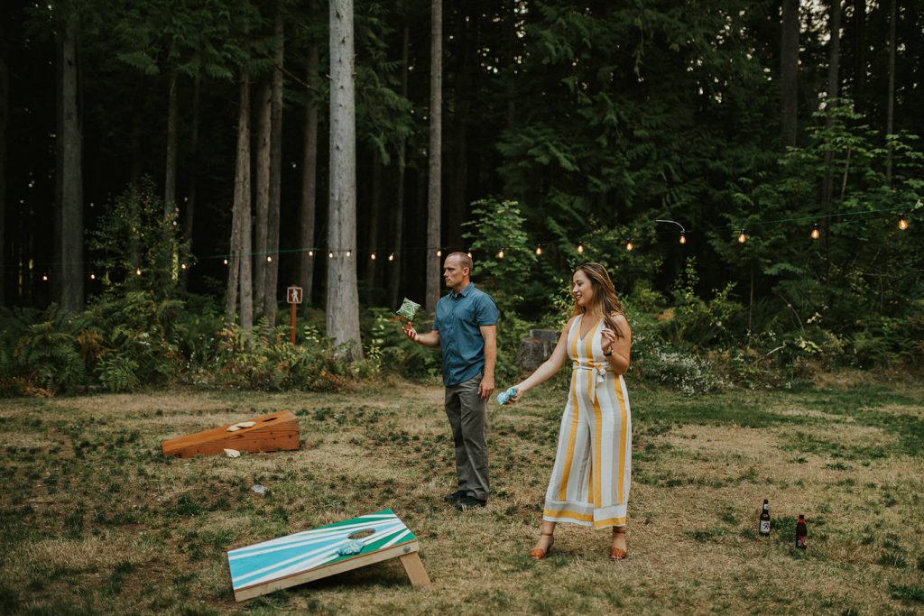 Adventure wedding in washington state