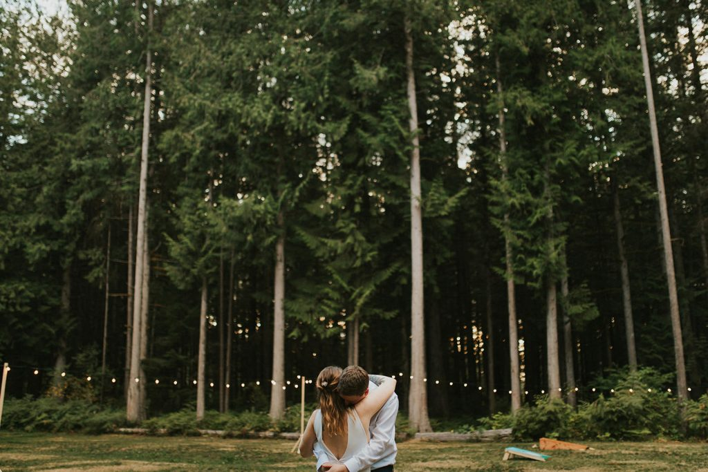 Campground Wedding Celebration