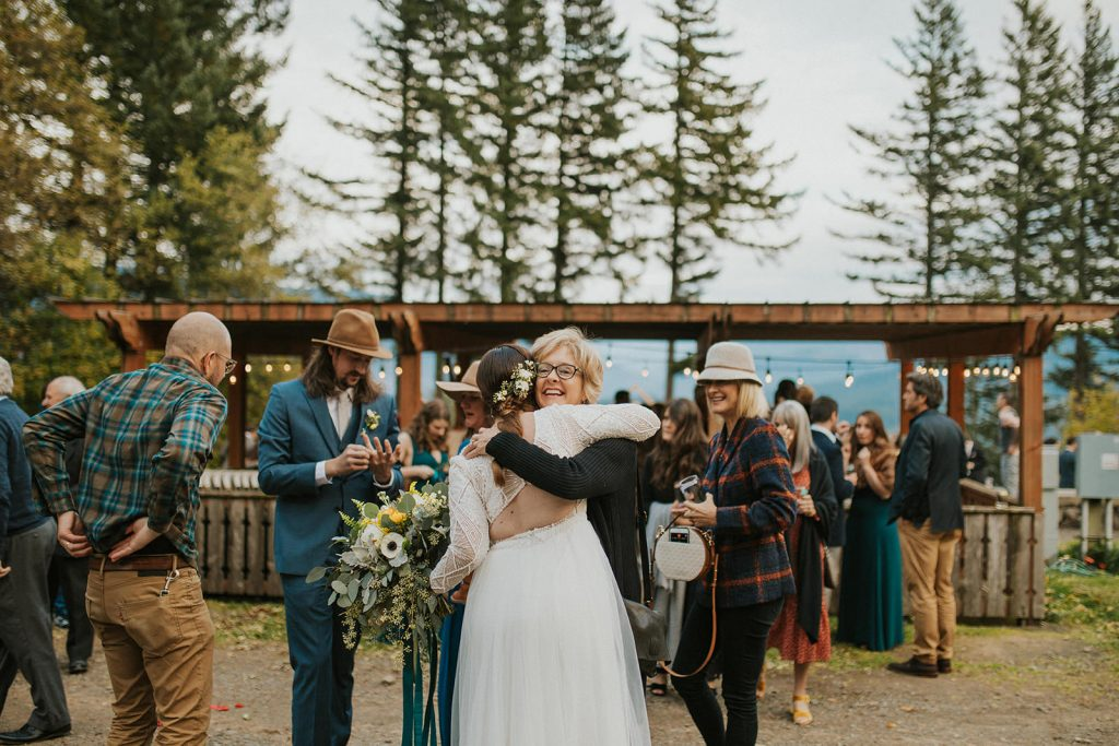 Camping elopement in Portland Oregon
