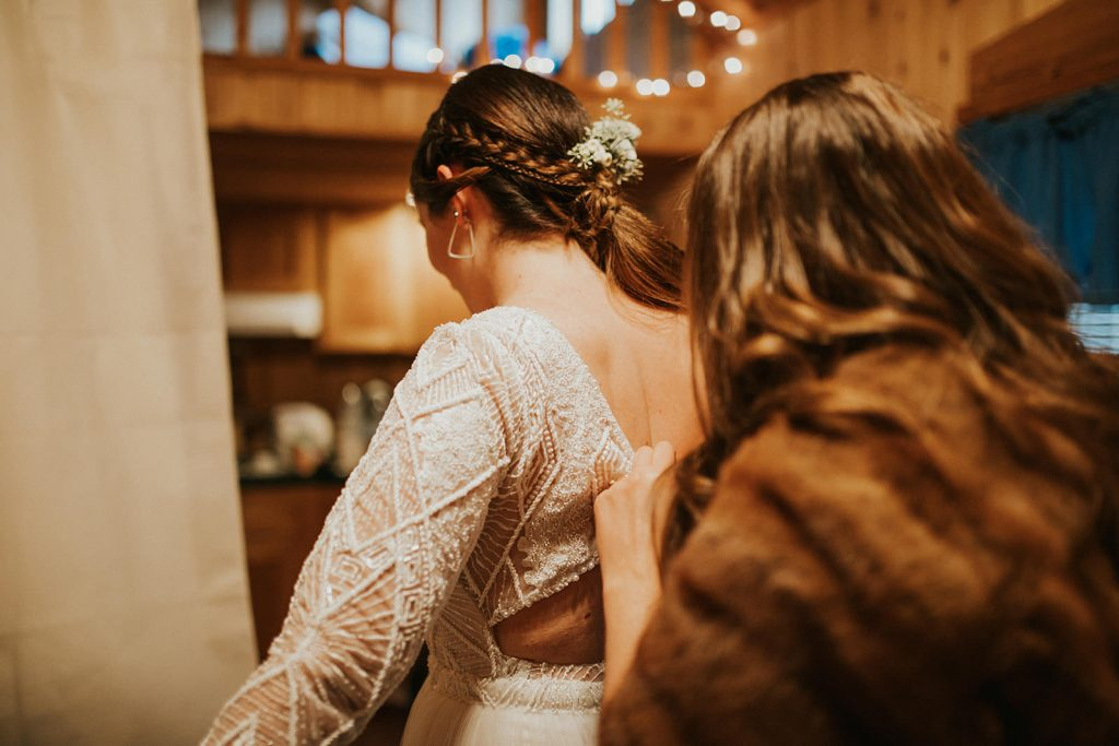 Intimate woods wedding in portland oregon