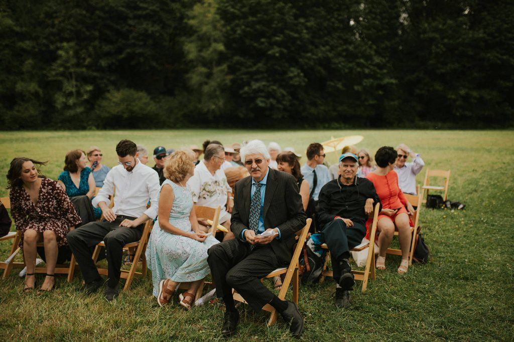 Outdoor wedding in washington