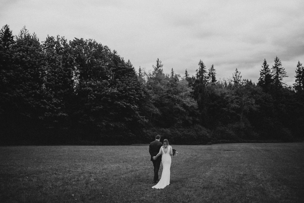 Intimate Wedding near Seattle Washington