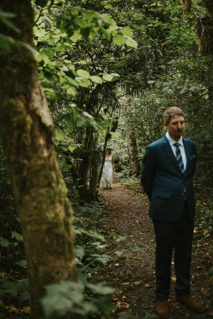 A forest wedding at Rasar State Park
