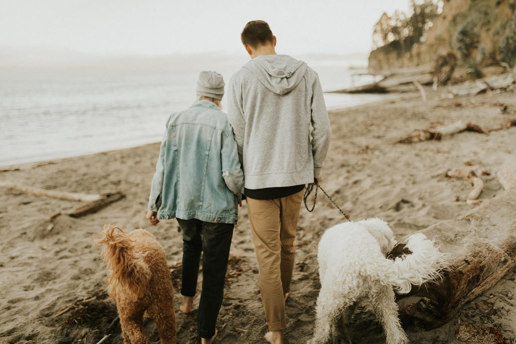 California Beach Engagement Photos