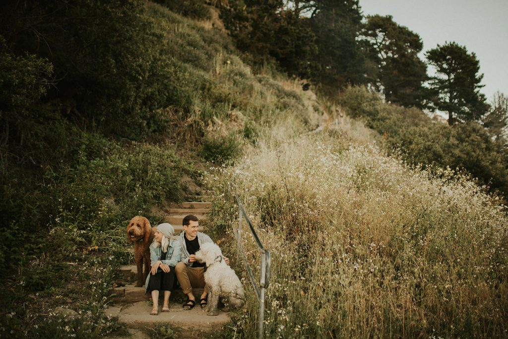 Golden hour couple session