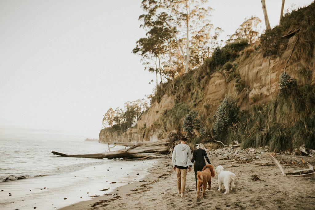 Adventure Engagement Session in Santa Cruz California