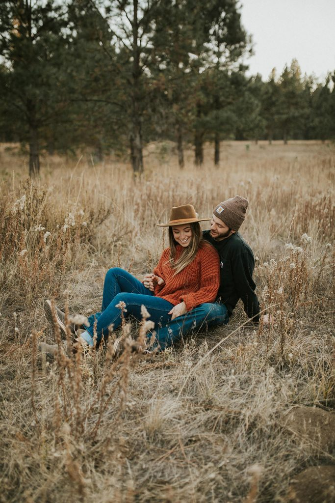 Bend Oregon Engagement Photos