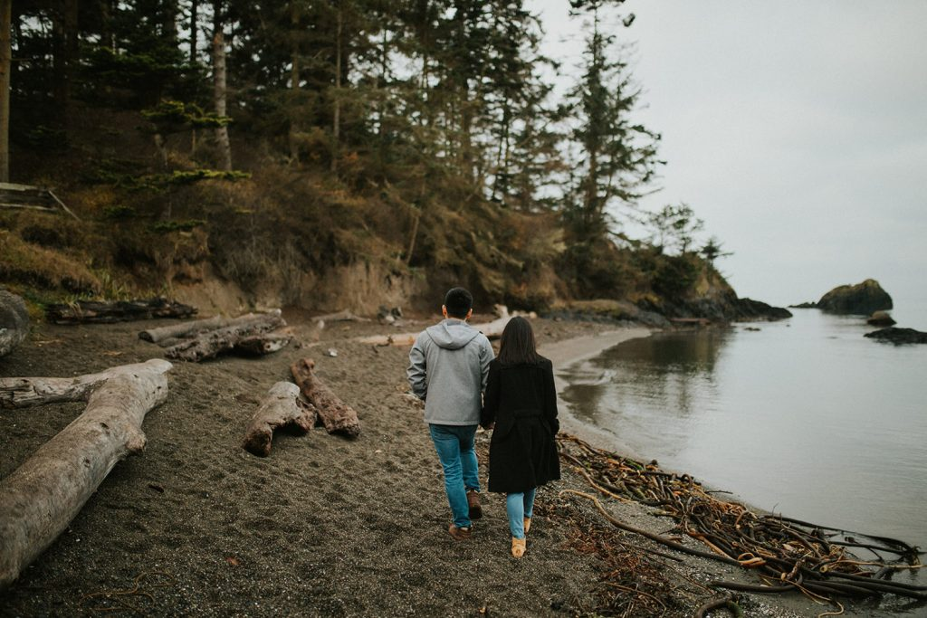 Deception Pass Rainy Engagement