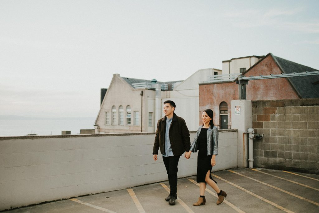 Seattle Downtown Engagement Locations in Washington