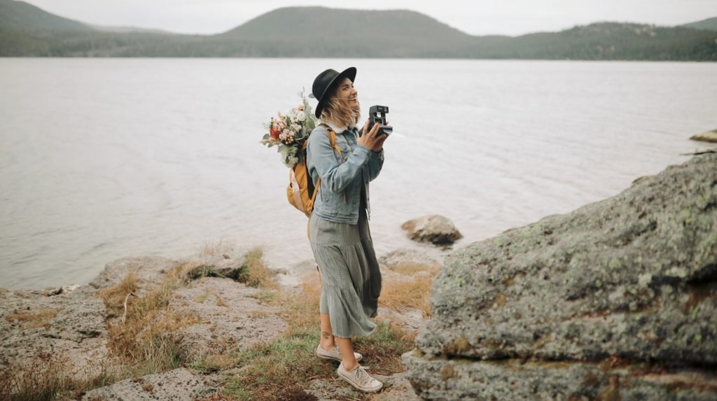 Bend Oregon Elopement at Paulina Lake
